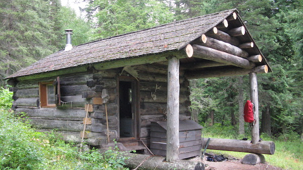 Harrison Lake Patrol Cabin, Glacier National Park