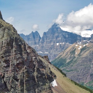 Mount Merritt and Old Sun Glacier, Glacier National Park