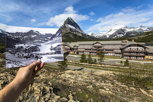 Many Glacier Hotel Past and Present, Glacier National Park