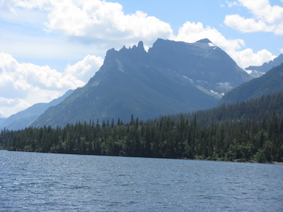 Porcupine Ridge and Citadel Peaks, Glacier National Park