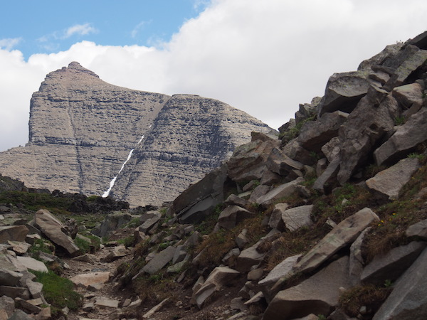 Mount Siyeh from Piegan Pass, Glacier National Park