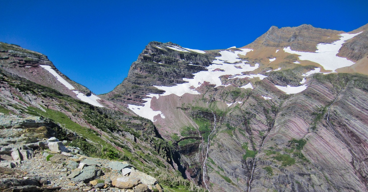 Gunsight Pass Trail, Point-to-Point Hike