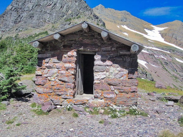 Gunsight Pass Shelter Cabin, Glacier National Park