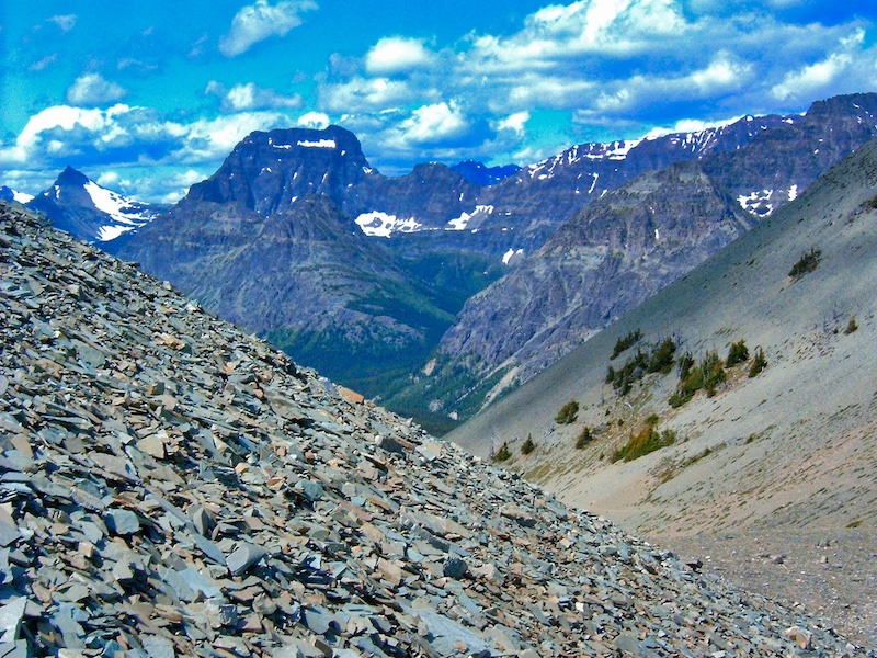 View West From Firebrand Pass