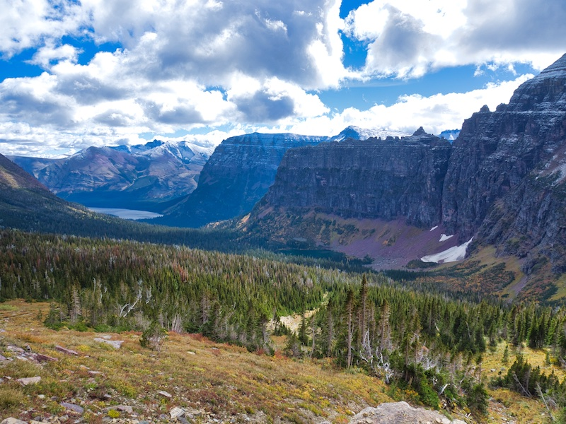 Looking East Toward Two Medicine Lake, Glacier National Park