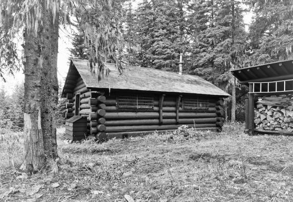 Logan Creek Patrol Cabin, Glacier National Park