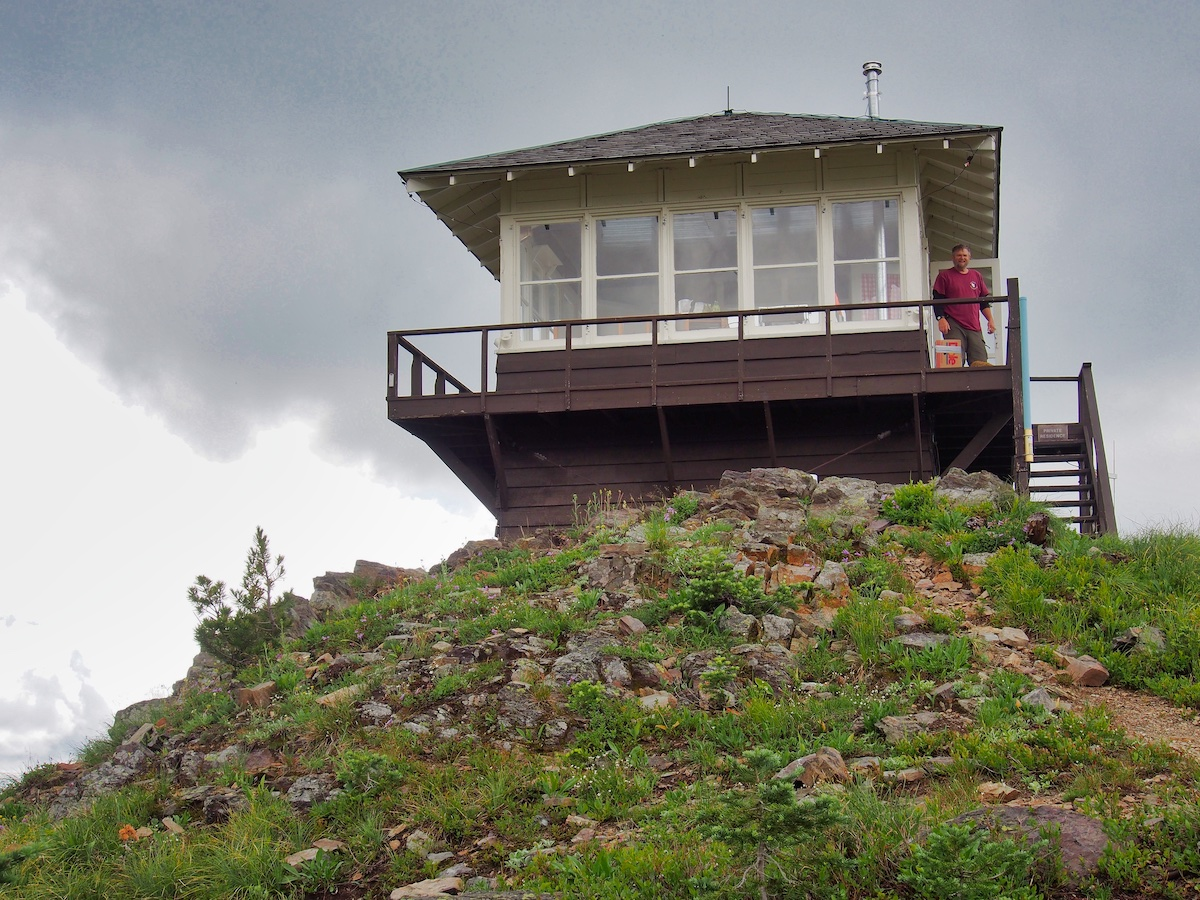 Numa Ridge Fire Lookout, Glacier National Park