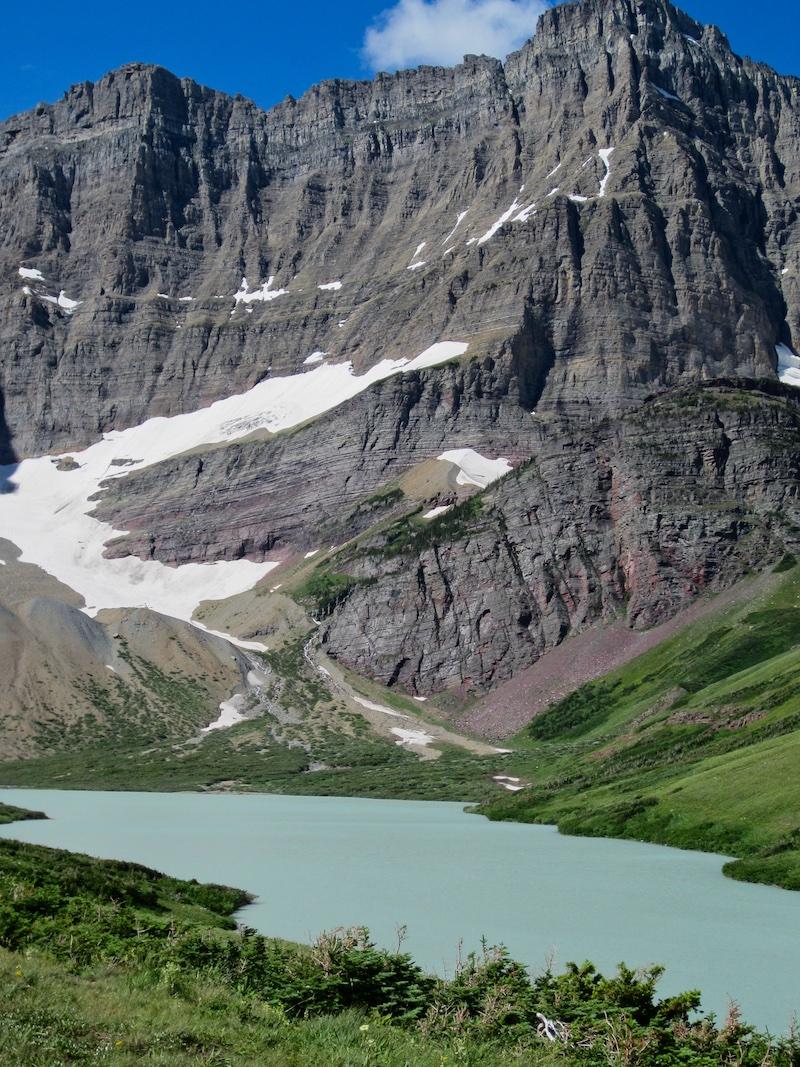 Cracker Lake and Mount Siyeh, Glacier National Park