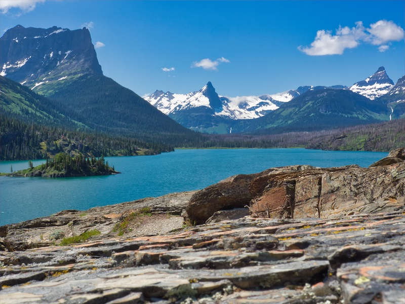 Saint Mary Lake from Sun Point, Glacier National Park
