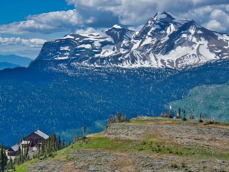 Heavens Peak and Granite Park Chalet, Glacier National Park