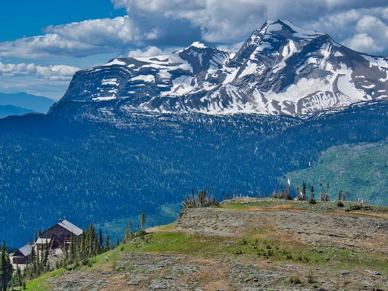 Heavens Peak and Granite Park Chalet, Glacier National Park