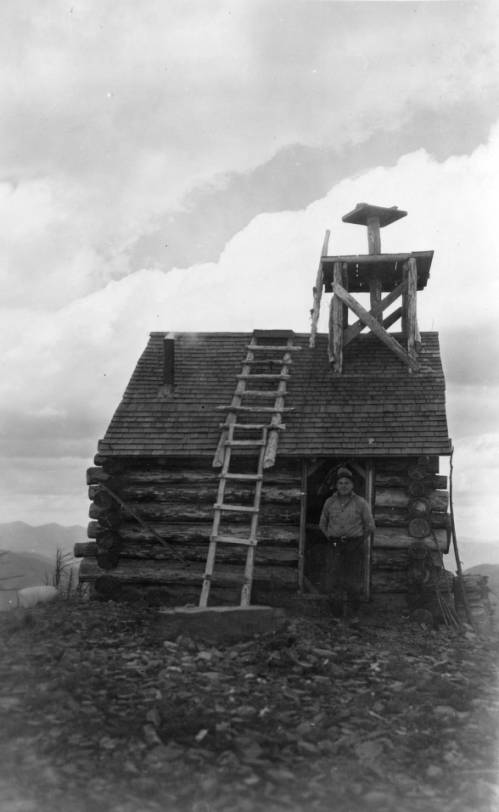 Glacier National Park 1923 Huckleberry Fire Lookout
