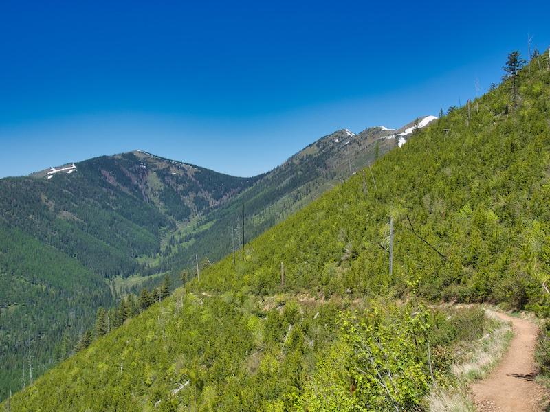Glacier National Park, Apgar Fire Lookout Trail