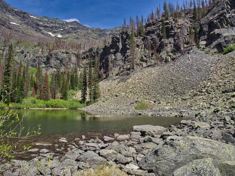 Glacier National Park, Lower Snyder Lake