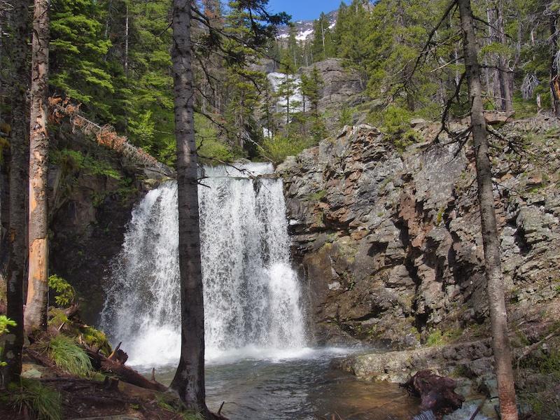 Glacier National Park: Rockwell Falls