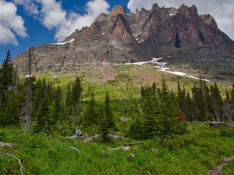 Glacier National Park: Sinopah Mountain