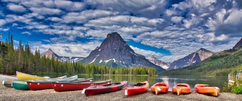 Glacier National Park: Two Medicine Lake