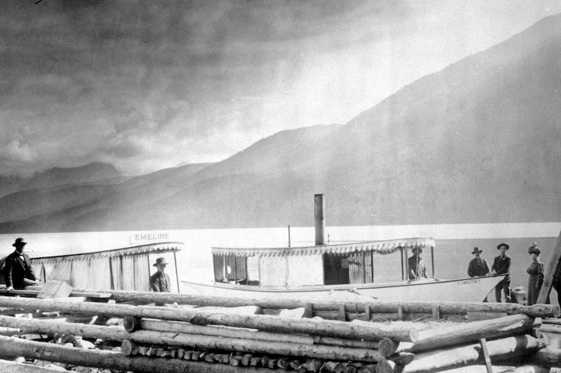 Glacier National Park History: Snyder's Steamboat