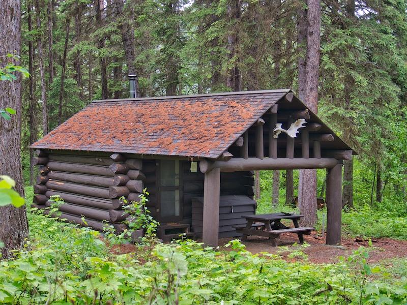 Ranger Patrol Cabin, Bowman Lake, Glacier National Park