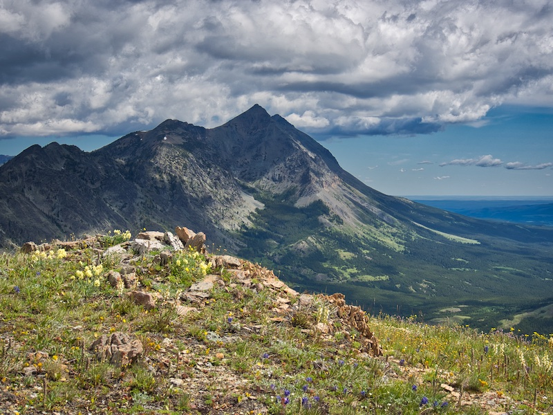 Glacier National Park, Summit of Elk Mountain