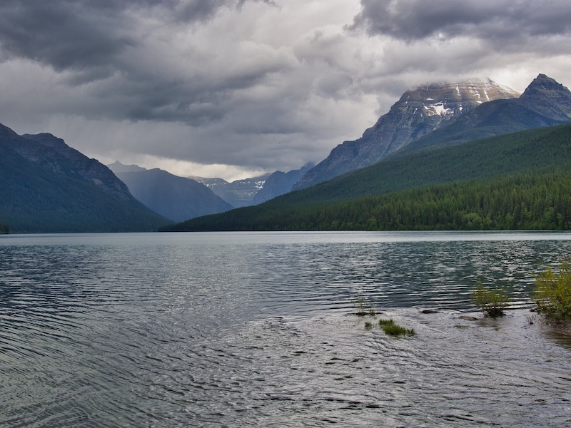 Bowman Lake, Glacier National Park
