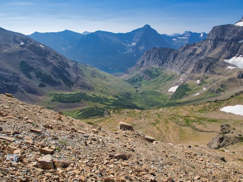 Glacier National Park, Baring Creek Valley