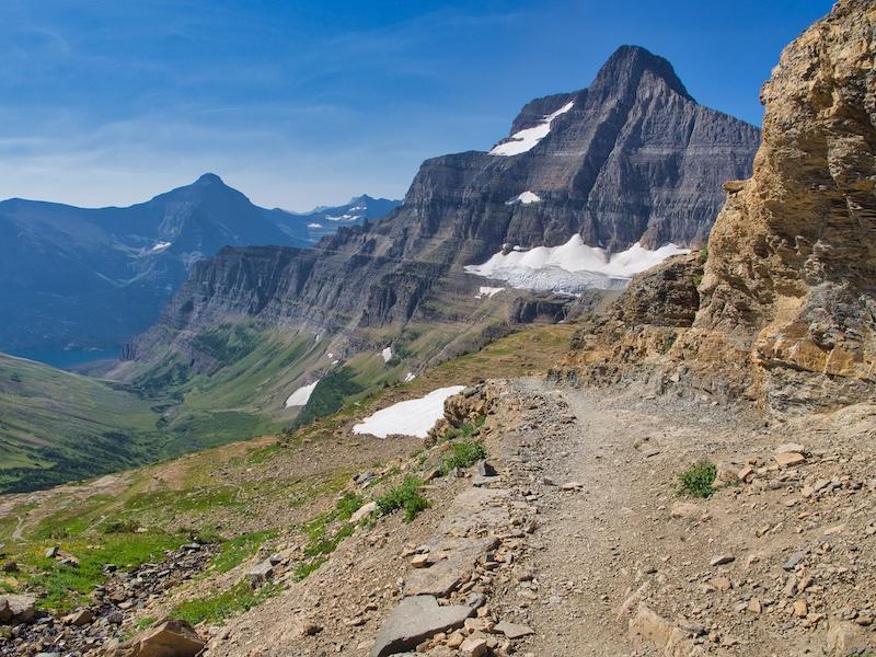 Glacier National Park, Going-to-the-Sun Mountain and Sexton Glacier