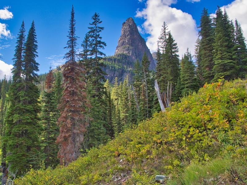 Pumpelly Pillar Spire, Two Medicine, Glacier National Park