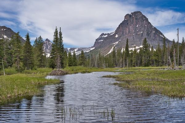Glacier National Park, Two Medicine, Beaver Pond