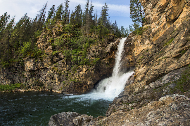 Glacier National Park, Two Medicine, Running Eagle Falls