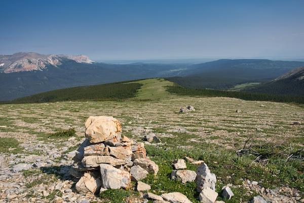 Glacier National Park, Belly River Region, Lee Ridge fell fields