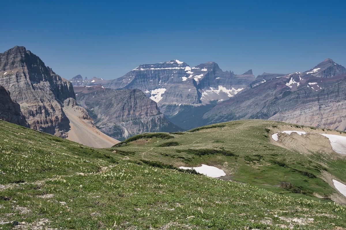 Glacier National Park, Belly River Region, Lee Ridge