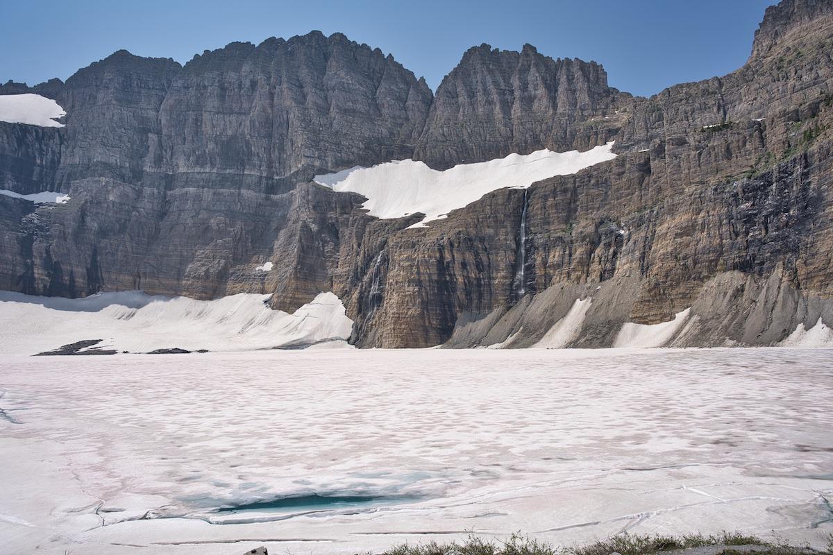Grinnell Glacier & Upper GrinnellLake