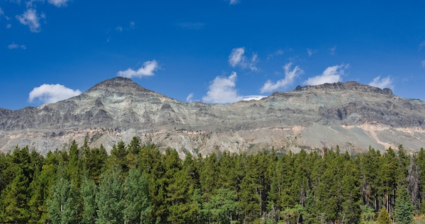 Glacier National Park, Little Dog Mountain and Summit Mountain